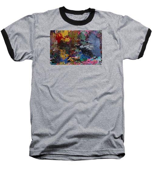 Tranquil Escape-1 Baseball T-Shirt by Alika Kumar