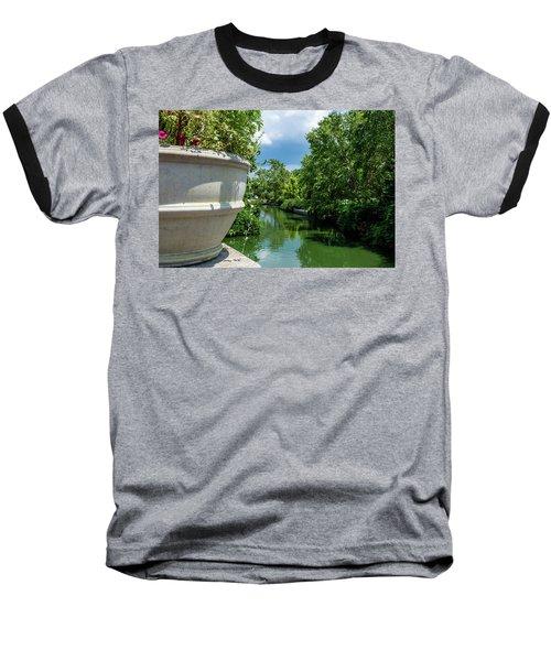 Tranquil Garden Baseball T-Shirt