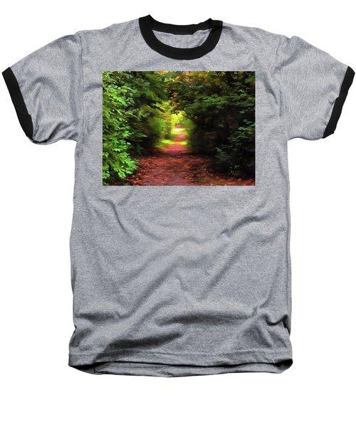Tranquil Pond Baseball T-Shirt
