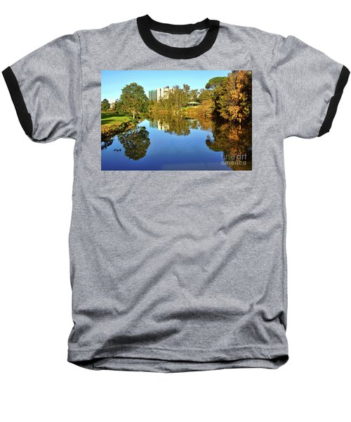Baseball T-Shirt featuring the photograph Tranquil River By Kaye Menner by Kaye Menner