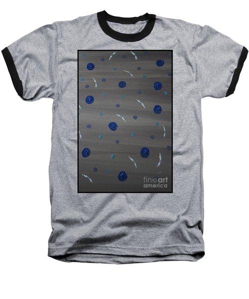 Tranquil Acrylic Abstract Baseball T-Shirt
