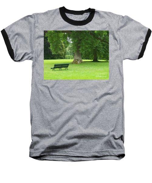 Tranquil Space Baseball T-Shirt