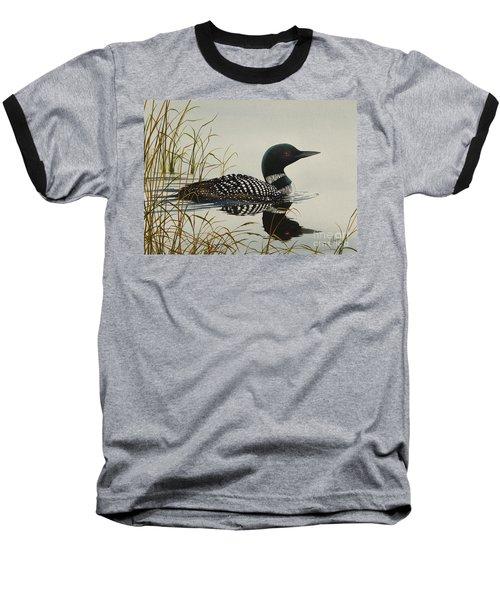 Tranquil Stillness Of Nature Baseball T-Shirt