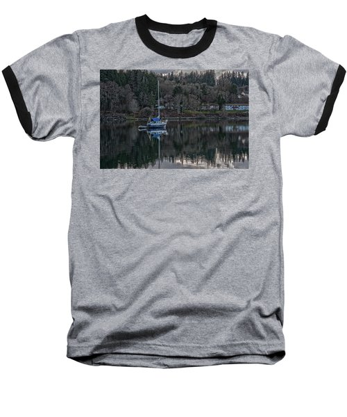Tranquility 9 Baseball T-Shirt by Timothy Latta