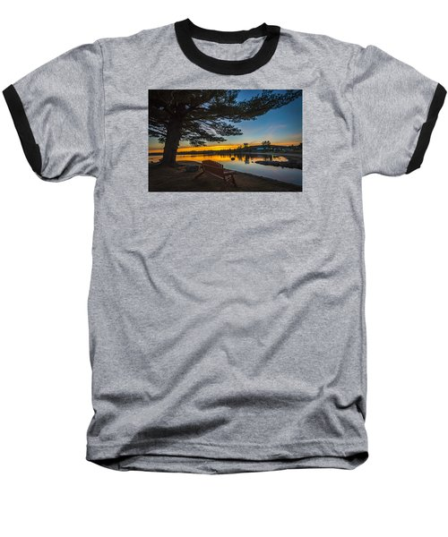Tranquility At Sunset Baseball T-Shirt