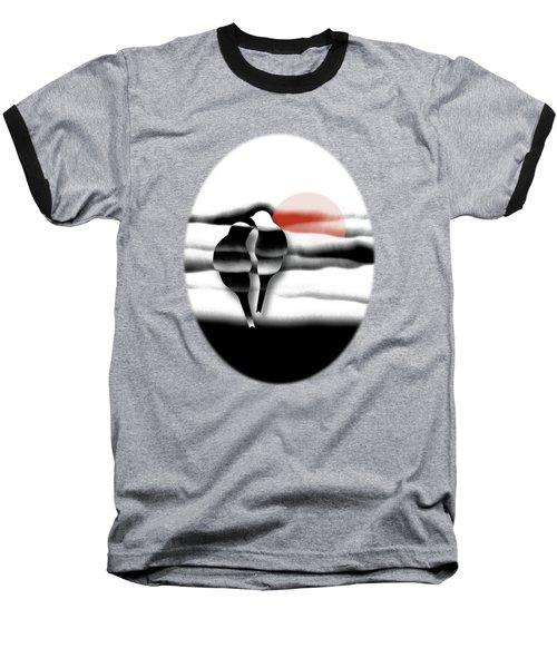 Tranquility Baseball T-Shirt by AugenWerk Susann Serfezi