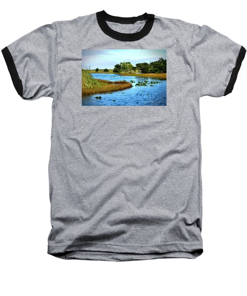 Tranquility... Baseball T-Shirt by Edgar Torres