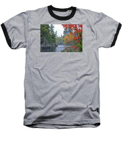 Baseball T-Shirt featuring the photograph Autumn Tranquility by Glenn Gordon