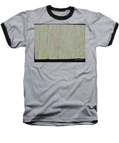 Baseball T-Shirt featuring the painting Tranquility by Jacqueline Athmann