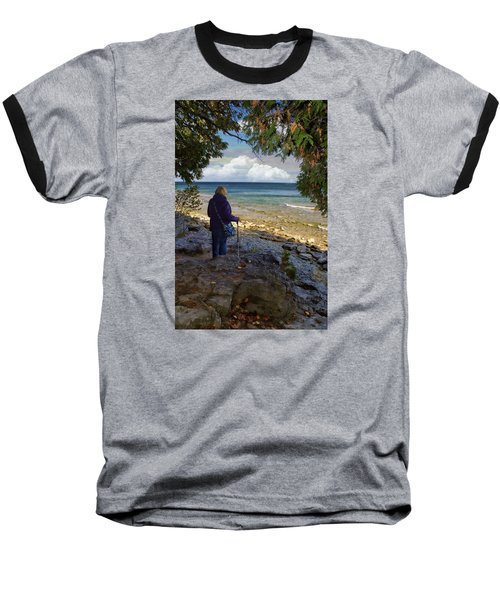 Baseball T-Shirt featuring the photograph Tranquility by Judy Johnson
