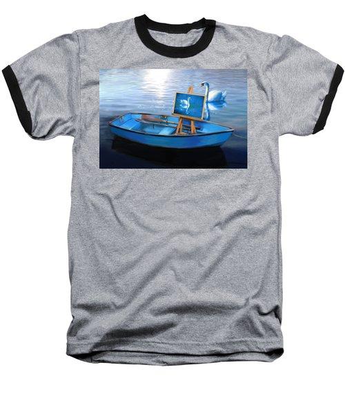 Tranquility Baseball T-Shirt by Nanda Dixit