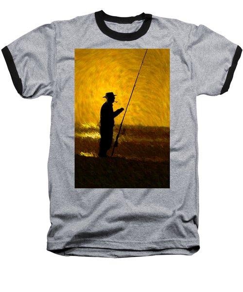 Tranquility Baseball T-Shirt by Paul Wear
