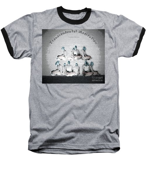 Transcendental Meditation Baseball T-Shirt