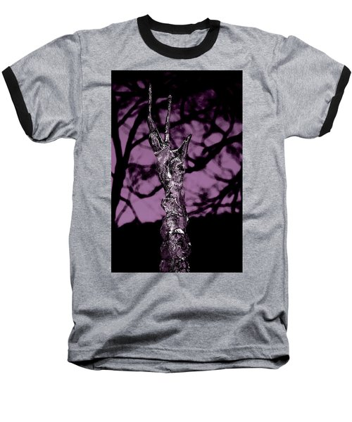 Transference Baseball T-Shirt by Danielle R T Haney
