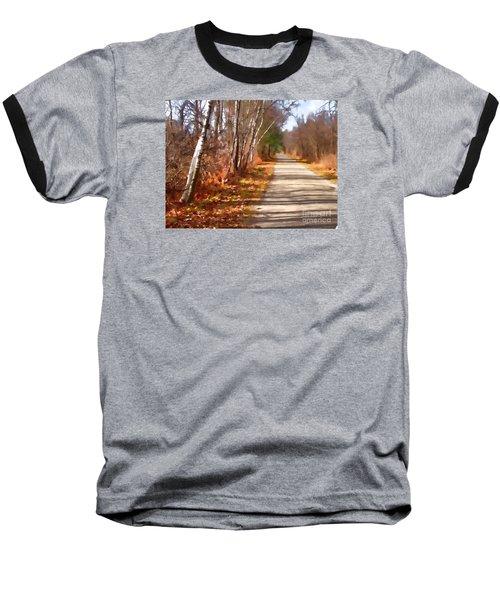 Transformed Baseball T-Shirt by Betsy Zimmerli
