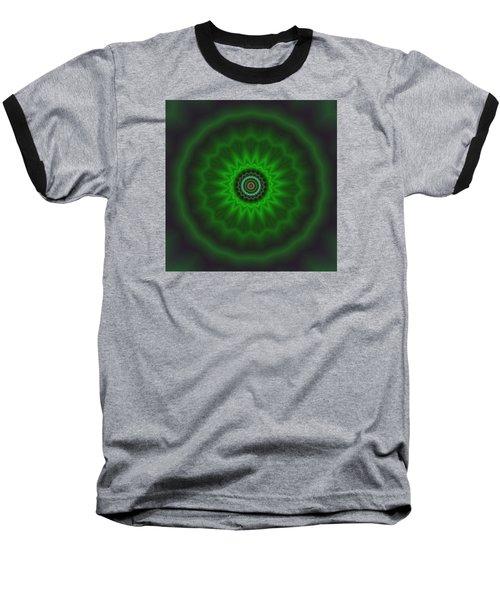 Baseball T-Shirt featuring the digital art Transition Flower 2 by Robert Thalmeier