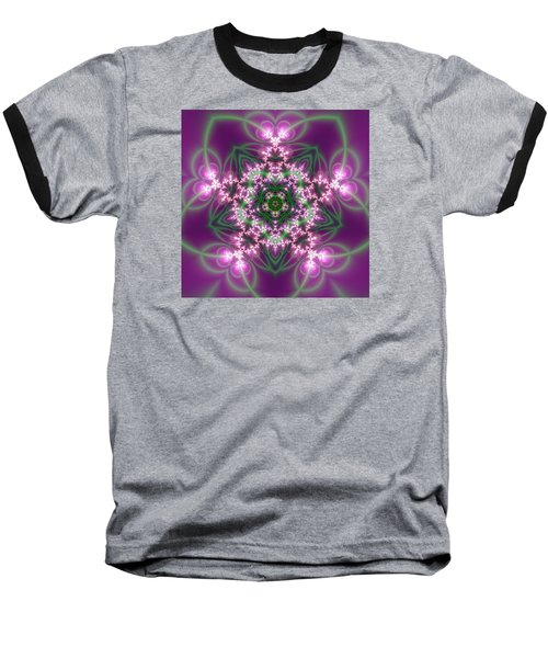 Transition Flower 5 Beats Baseball T-Shirt by Robert Thalmeier
