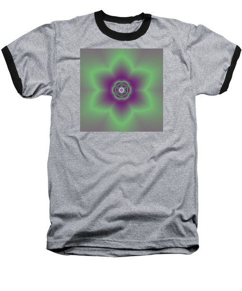 Transition Flower 6 Beats 2 Baseball T-Shirt by Robert Thalmeier
