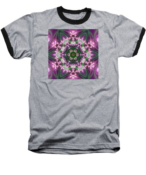 Transition Flower 6 Beats 4 Baseball T-Shirt by Robert Thalmeier