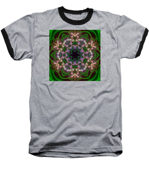 Transition Flower 6 Beats Baseball T-Shirt by Robert Thalmeier