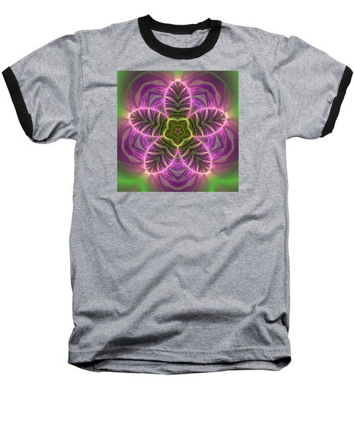 Transition Flower Baseball T-Shirt by Robert Thalmeier