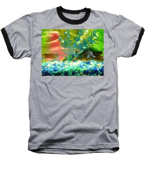 Transparent Catfish Baseball T-Shirt