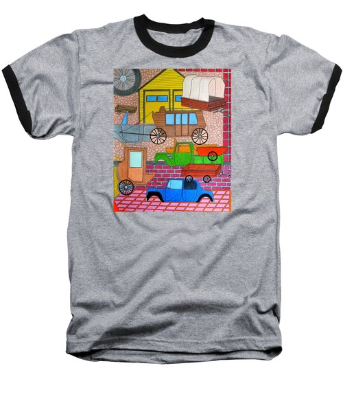 Transport Baseball T-Shirt