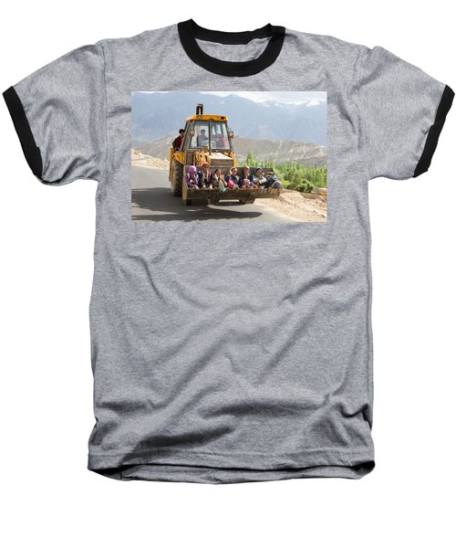 Transport In Ladakh, India Baseball T-Shirt
