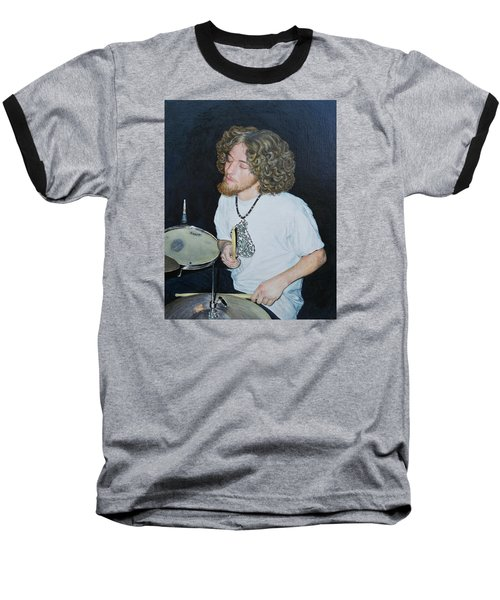 Transported By Music Baseball T-Shirt by Michele Myers