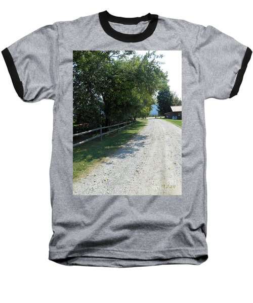 Trapp Family Lodge Rustic Road Baseball T-Shirt