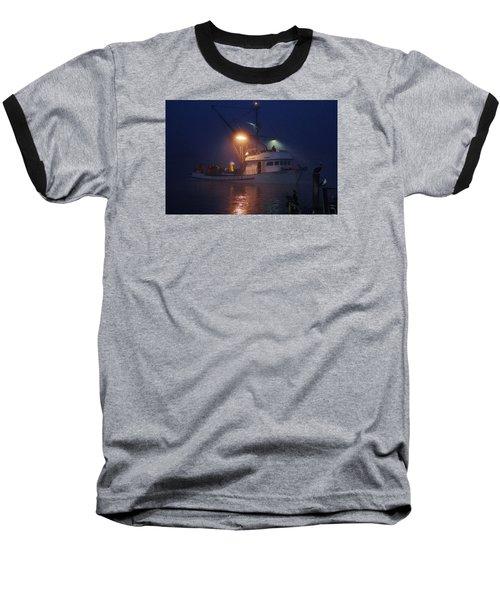 Traveler Bait Boat Baseball T-Shirt