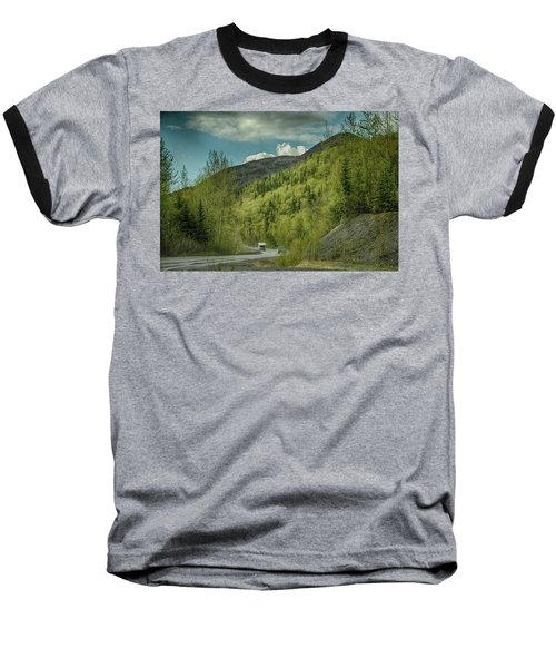 Traveling Alaska   Baseball T-Shirt