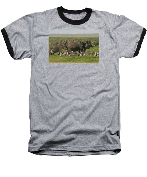 Baseball T-Shirt featuring the photograph Travelling Companions by Gary Hall