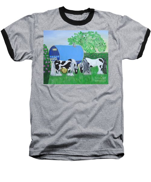 Travelling Light Baseball T-Shirt