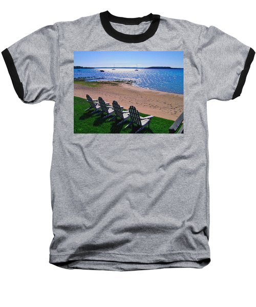 Traverse Bay Reverie Baseball T-Shirt