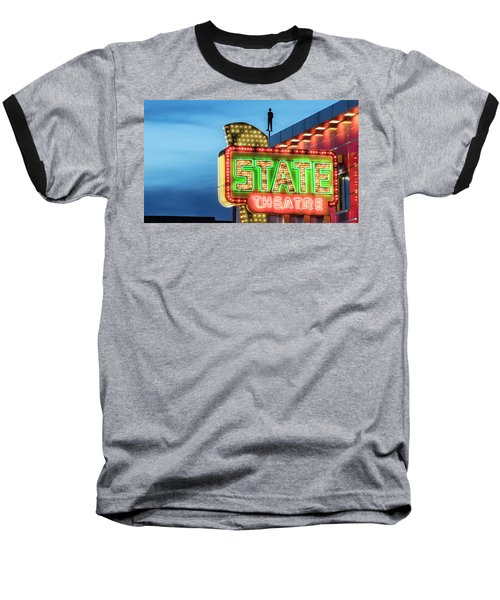 Traverse City State Theatre Baseball T-Shirt