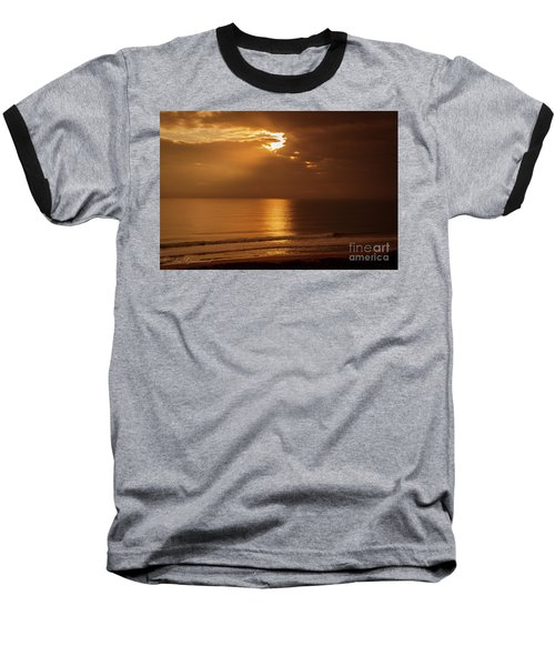 Treasure  Coast Sunrise Baseball T-Shirt