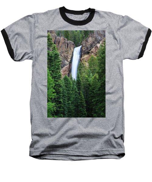 Baseball T-Shirt featuring the photograph Treasure Falls by David Chandler