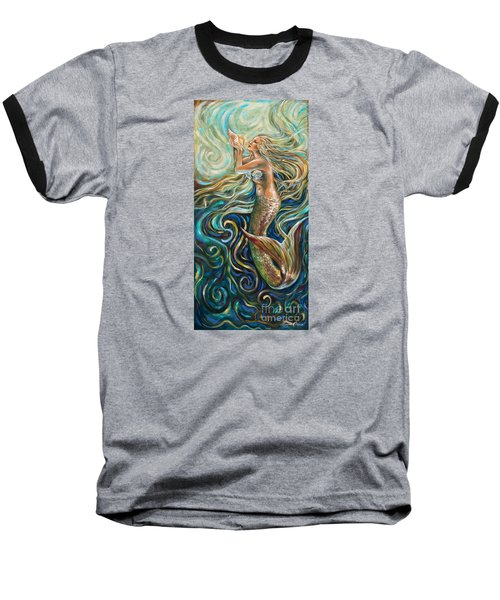 Treasure Mermaid Baseball T-Shirt