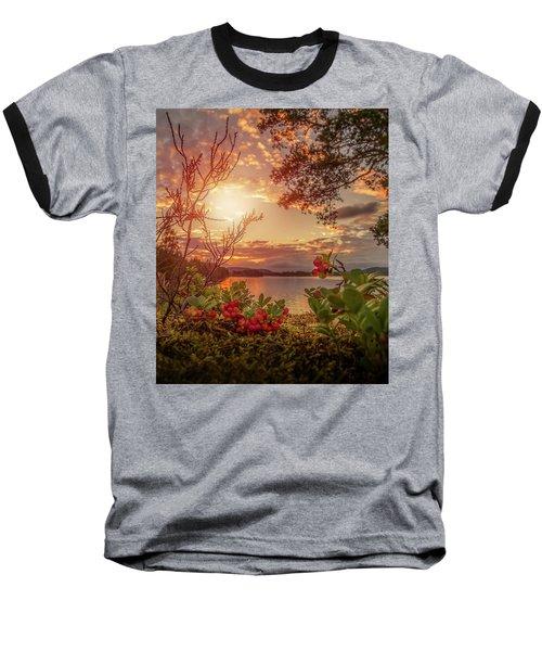 Treasures In Nature Baseball T-Shirt by Rose-Marie Karlsen