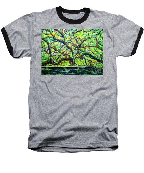 Treaty Oak /part Two/ Baseball T-Shirt