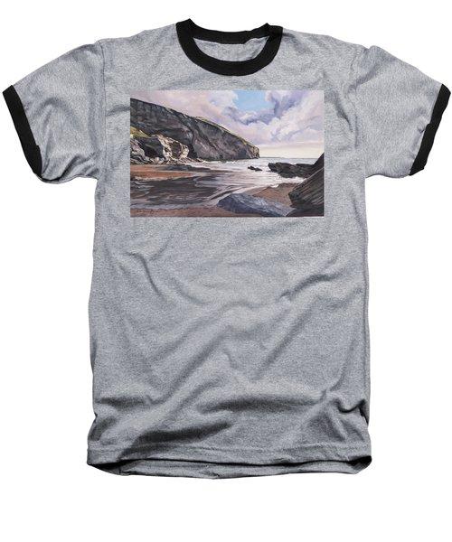 Trebarwith Strand Baseball T-Shirt