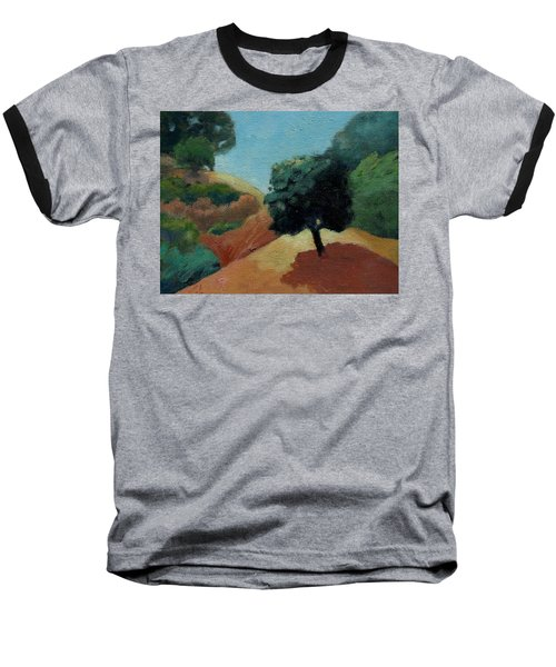 Baseball T-Shirt featuring the painting Tree Alone by Gary Coleman