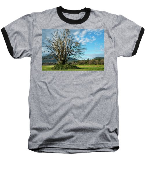 Tree And Sky Baseball T-Shirt