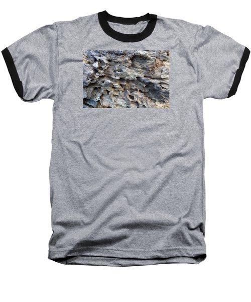 Baseball T-Shirt featuring the photograph Tree Bark 1 by Jean Bernard Roussilhe