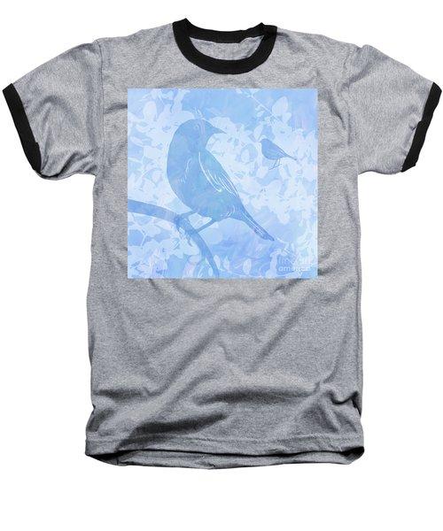 Tree Birds I Baseball T-Shirt