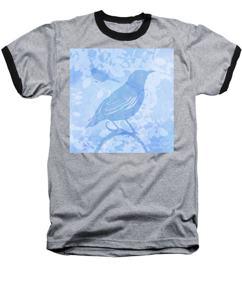 Tree Birds II Baseball T-Shirt