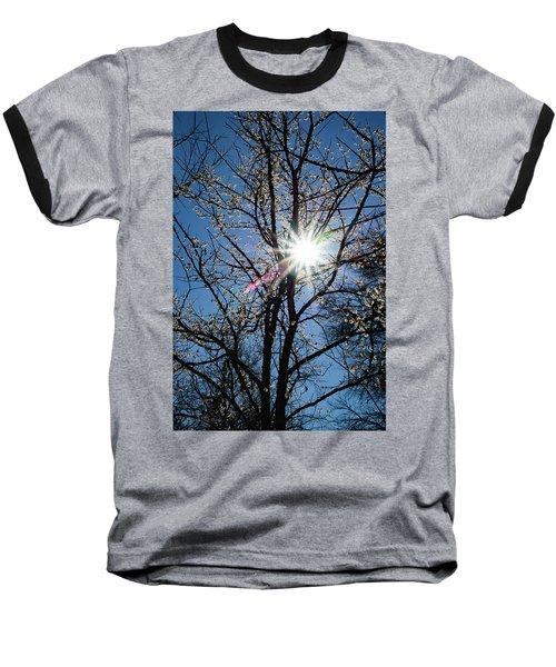 Tree Buds Baseball T-Shirt