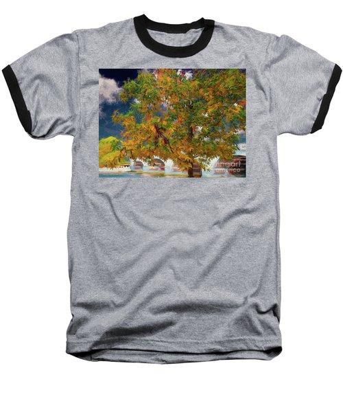 Tree By The Bridge Baseball T-Shirt