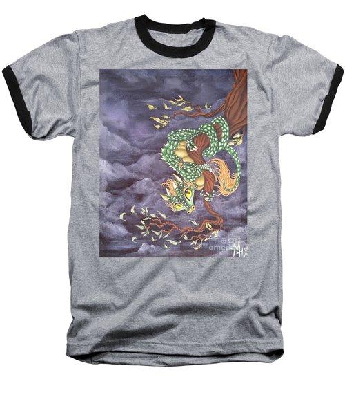 Tree Dragon Baseball T-Shirt